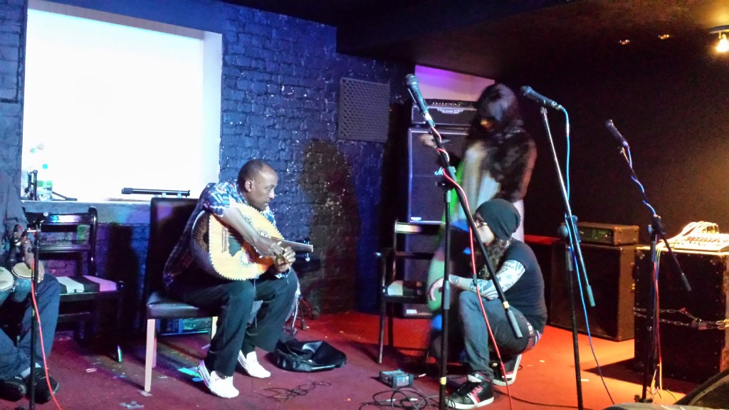 Fiska and Said rehearse in Leicester