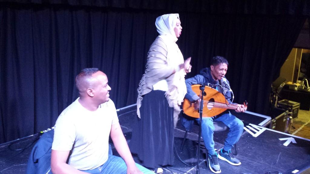 Maxamed BK, Sahra Ilays and Da'ud Ali